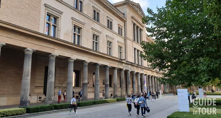 Il Museo Nuovo a Berlino sull'isola dei Musei