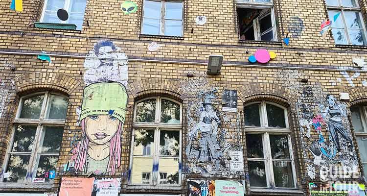 Street Art sulle pareti di Berlino