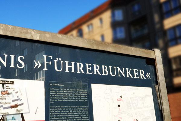 Il Bunker di Hitler è una delle tappe de free tour di Berlino.