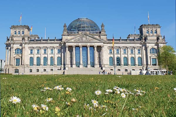 Il parlamento tedesco è una tappa del tour gratis di Berlino in italiano.