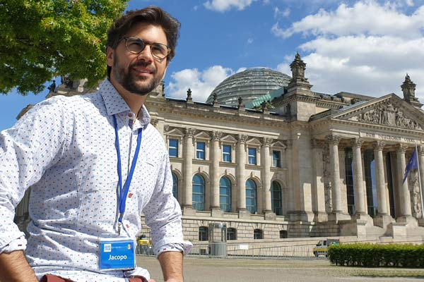 Parlamento tedesco - guida italiana Berlino