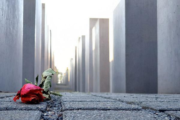 Il Monumento dell'olocausto è una tappa obbligatoria del free walking tour di Berlino in italiano.