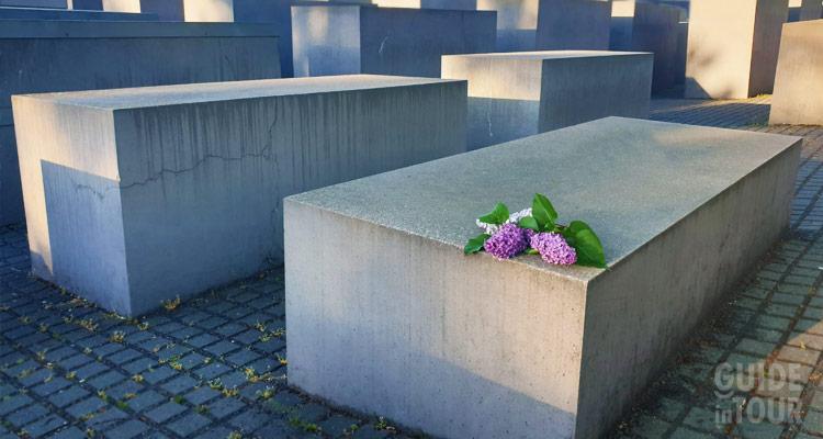 Berlino, Monumento alla memoria degli ebrei assassinati in Europa durante il nazismo.