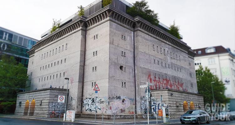 Foto del bunker della collezione soros, uno dei musei di nicchia di Berlino