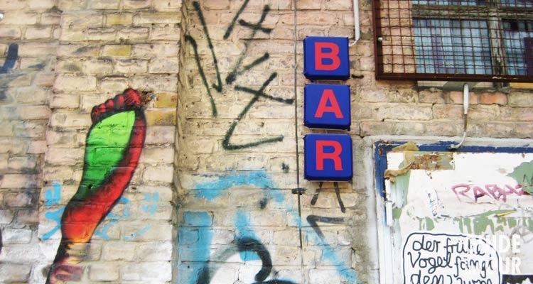 entrata di un pub di Berlino