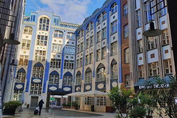Cortili quartiere ebraico Berlino