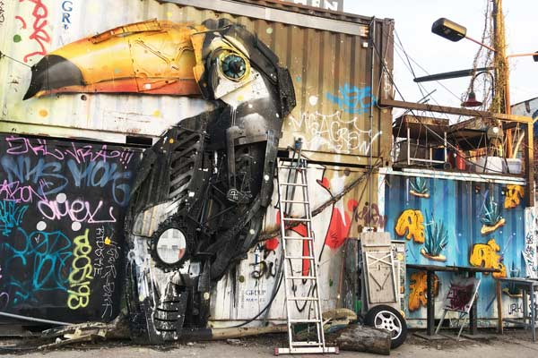 Tour Berlino arte urbana