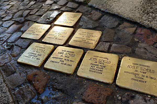 Pietre dell'inciampo a Berlino