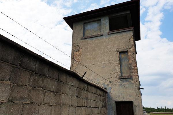 Torre di vigilanza del Campo di concentramento di Berlino