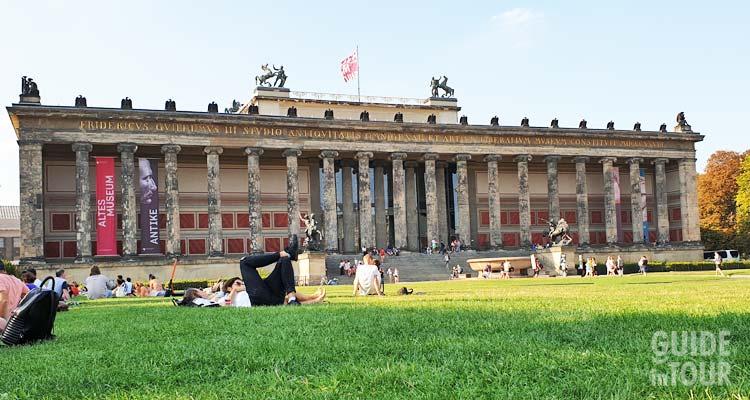 Museo Antico dell'Isola dei Musei di Berlino.