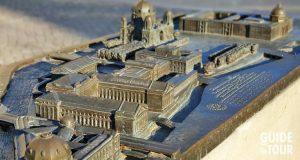 Plastico generale dell?Isola dei Musei di Berlino