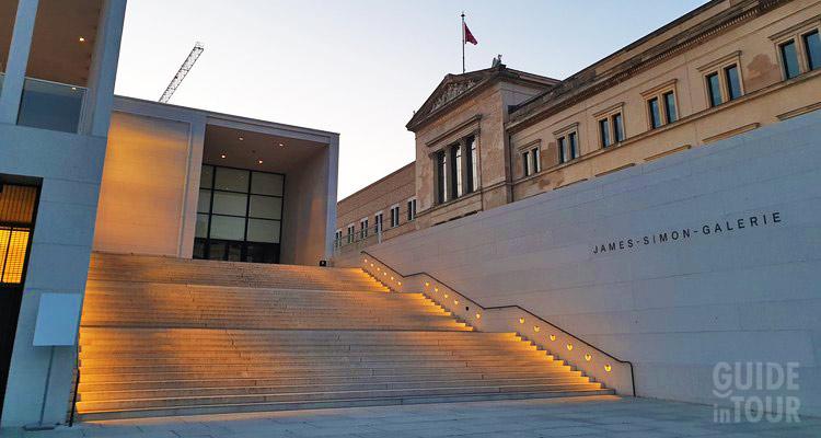 Biglietteria Isola dei Musei di Berlino.
