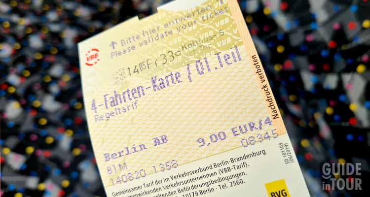 Fra le cose da non fare a Berlino c'è sicuramente non montare sui mezzi senza un biglietto valido.