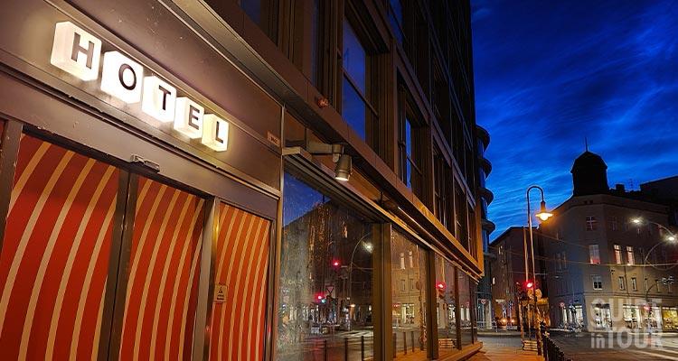 Un hotel dove dormire a Berlino nel quartiere di Mitte.