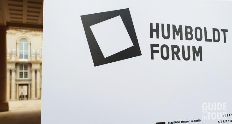 Entrata principale all'Humboldt Forum di Berlino.