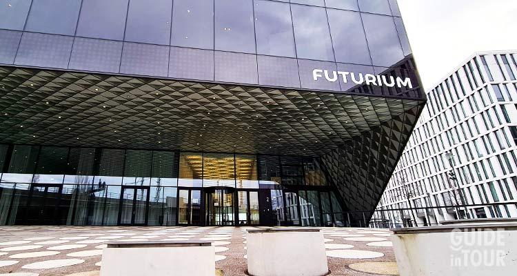 Entrata principale al museo Futurium, uno dei musei gratis di Berlino.