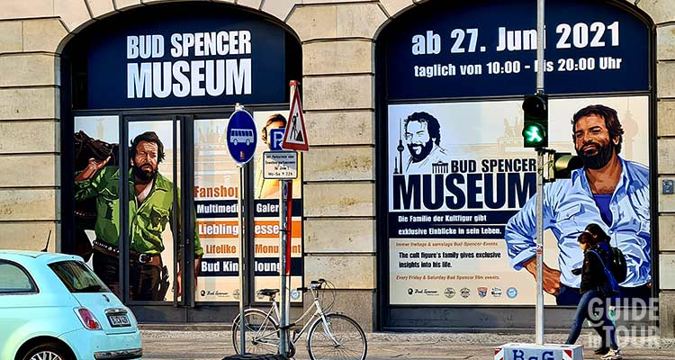 Il Museo Bud Spencer a Berlino.