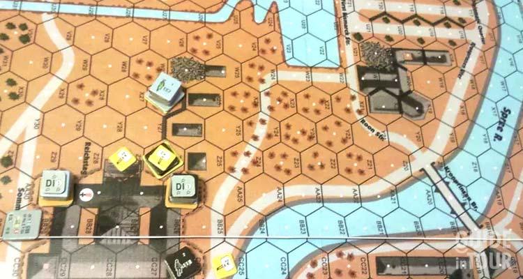 Il gioco da tavolo che ripercorre gli eventi della battagli di Berlino.