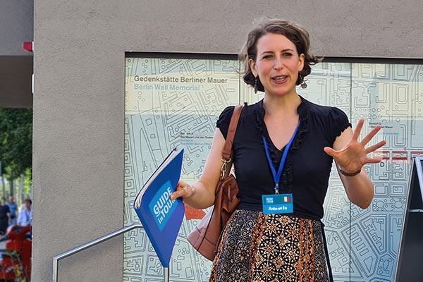 Antonella, guida turistica italiana a Berlino.