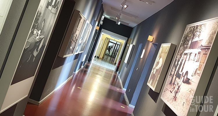 Esposizione posta all'interno del Museo della Stasi.